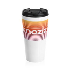 Stainless Steel Mug | High Quality Sublimation printing | Knoziz Recordings