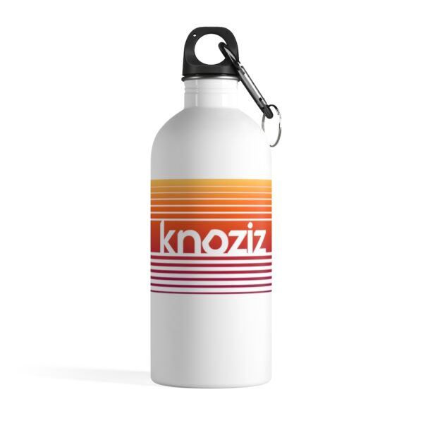 Stainless Steel Water Bottle | Amazing Quality Print | Knoziz Recordings